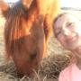 """Anna Koula, uczestniczka kursu online """"Odkryj tajemnice koni i usłysz co chce powiedzieć koń"""""""